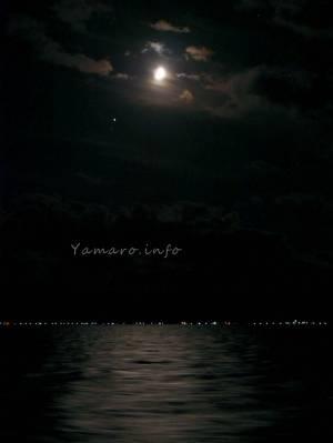 月夜の津軽海峡