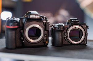 Nikon D850とNikon Z7