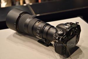 AF-S NIKKOR 500mm f/5.6E PF ED VRとD500