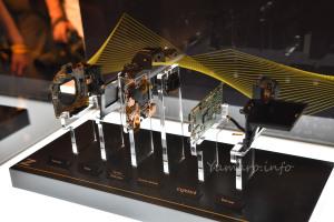 Z 7の内部構造展示