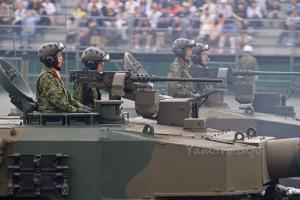 90式戦車の隊員