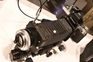 Nikkor-P 105mm f/4 とベローズ
