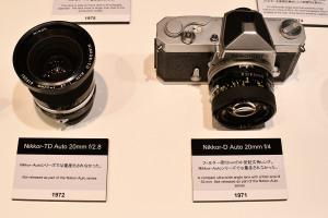 Nikkor-TD Auto 20mm f/2.8  Nikkor-D Auto 20mm f/4