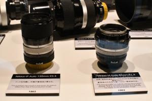 Nikkor-P Auto 135mm f/3.5  Nikkor-H Auto 85mm f/1.8