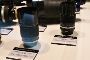 Reflex-Nikkor 250mm f/8  Nikkor-P Auto 200mm f/4