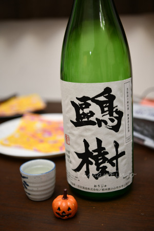 【杉田酒造】鷗樹(おうじゅ) 純米無濾過生原酒