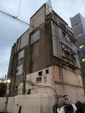 大井町の古ビル