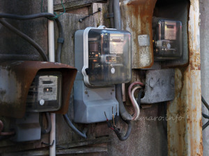 有効期限切れの電気メーター