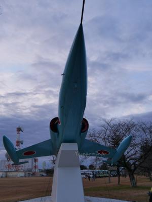 百里基地入り口のF-104J