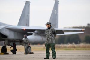 F-15Jと隊員