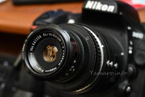 D810 + EL-NIKKOR 50mm f/4 (PK11/PK12-PK-13)