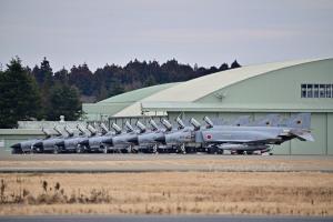 第301飛行隊のF-4EJ改