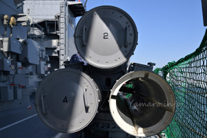 68式三連装単魚雷発射管