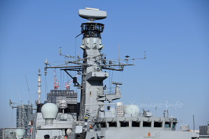 HMSモントローズのマスト