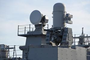 CIWS ファランクスBlock1Bと射撃指揮装置2型31