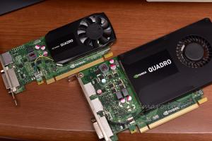 Quadro K620とK2200の比較