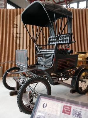 日本初の蒸気自動車