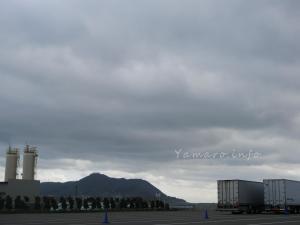 函館は強風に小雨