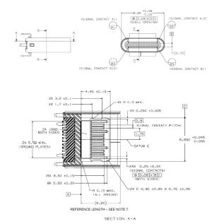 USB Type C端子の構造