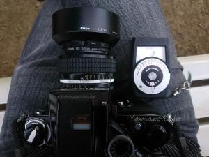 AI 50mm f/1.2Sにセコニック