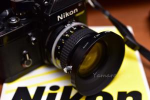 AI Nikkor 24mm f/2専用フードHK-2