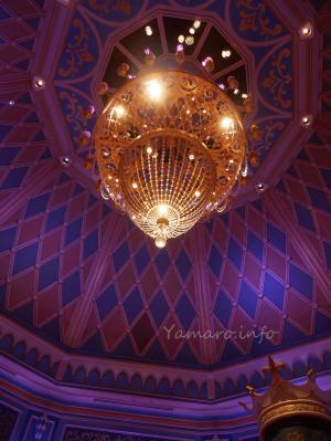 シンデレラ城の天井