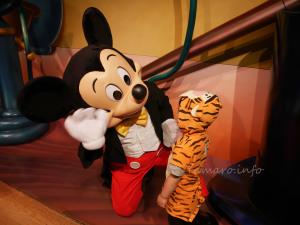 ミッキーマウスとご対面