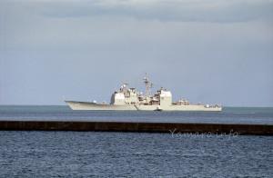 イージス巡洋艦「ヴィンセンス」