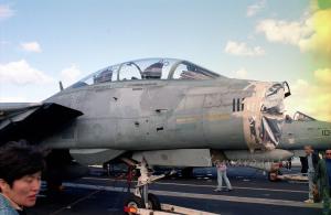 レドームのないF-14A