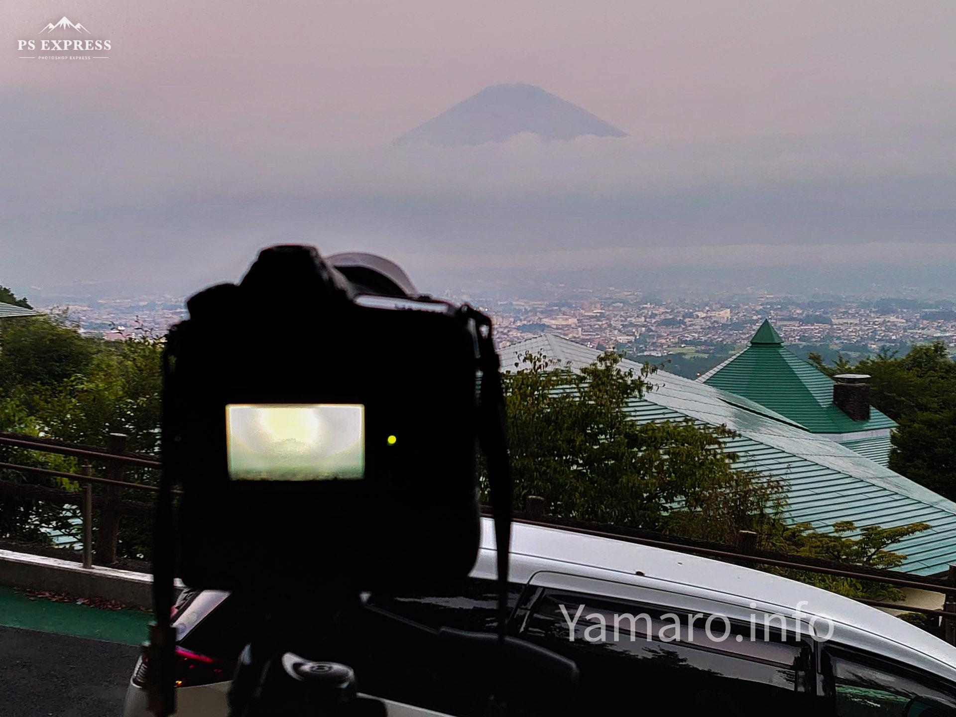 富士山をタイムラプスで撮影