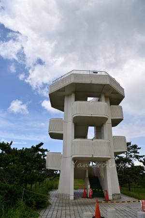 中の島展望台は封鎖中