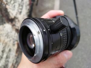 PC-Nikkor 35mm F2.8(New) マウント側にも傷が