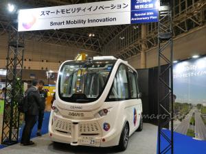 SBドライブの自動運転バス