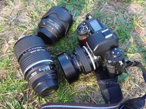 DC-NikkorとAI 50mm f/1.2SとAF-S 35mm f/1.8G