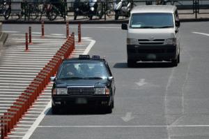 新宿のタクシーを激写
