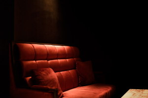 待合室のソファー
