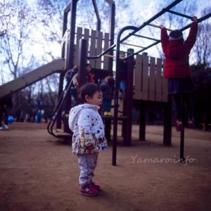 息子と公園へ